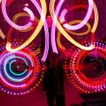 световое шоу на праздник в уфе