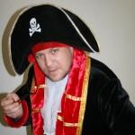 аниматор на детский праздник пират