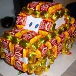 Шоколадные букеты фото