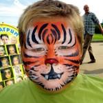 аквагрим тигр
