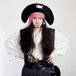 веселый аниматор пират