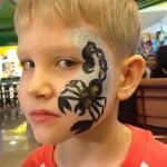 аквагрим скорпион