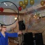 гигантские мыльные пузыри на вечеринку