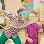мыльные пузыри на детский праздник