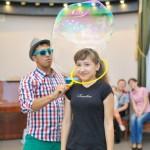 шоу мыльных пузырей уфа