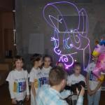 лазерное шоу на детский праздник в уфе
