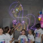 лазерное шоу для детей на выпускной