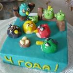 Заказать торт энгри бердс в уфе фото