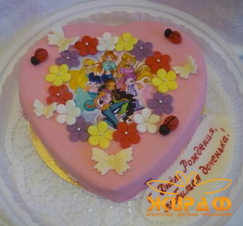 Фото тортов в уфе детям