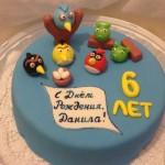Детский торт энгри бердс в уфе