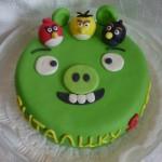 Тематический торт в уфе энгри бердс