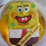 Спанч Боб для детей торт на заказ фото
