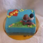 торт на заказ в Уфе Love is