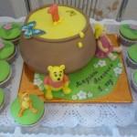 Торт Винни Пух на праздник детям