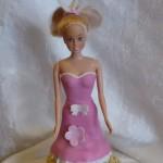Торт кукла для девочки на день рождения