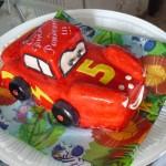 Торт тематический тачки для детей
