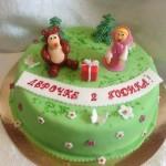 торт для детей машенька и медведь