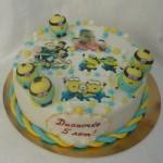 Торт Миньон на детский праздник на заказ