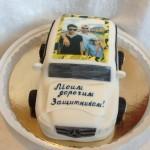 Торт поздравление с 23 февраля в Уфе