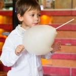 сахарная вата для детей