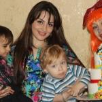 организация детских праздников Жираф