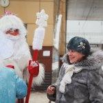 Дед Мороз на городской площади
