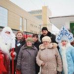 Дед Мороз для коллектива Уфа