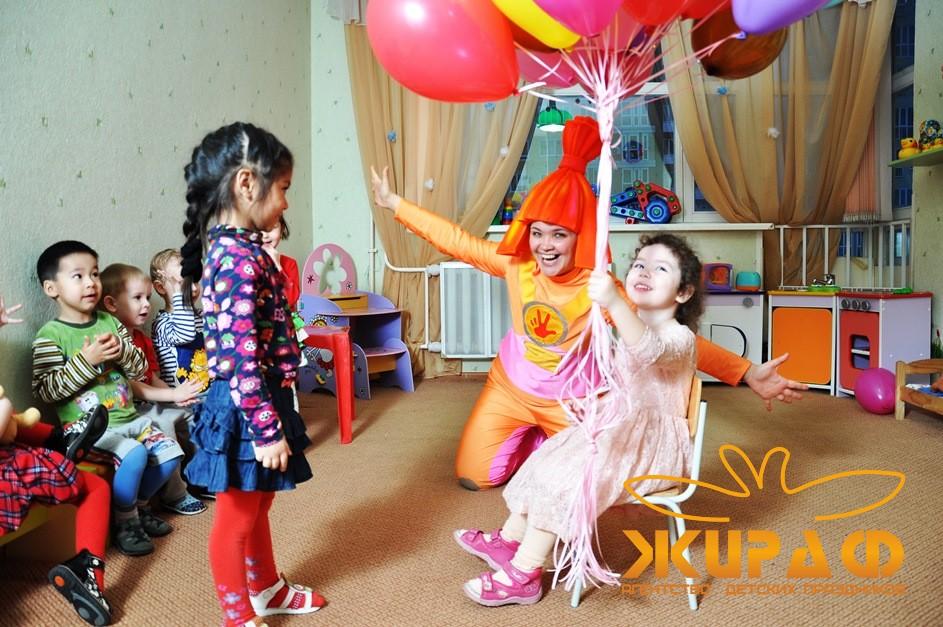Организация детских праздников для детских садов